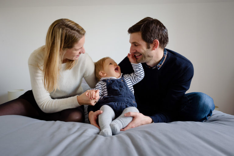 Photographe bébé domicile naturel Yvelines