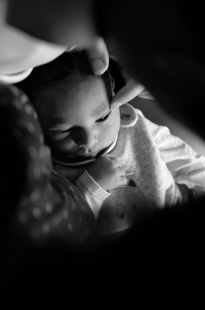 Séance photo lifestyle nouveau-né bébé Rambouillet Domicile 78 Sandrine Siryani