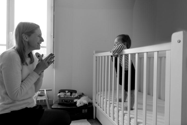 Séance famille bébé domicile Yvelines 78 Chatou