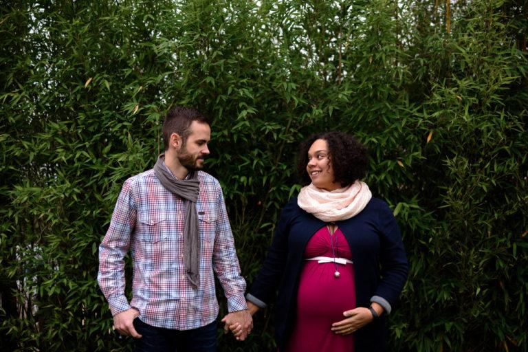 Séance Photo grossesse couple Yvelines extérieur Lifestyle 78