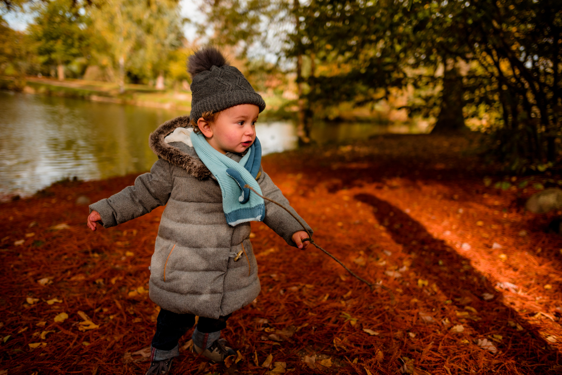 Photographe séance Yvelines automne Vésinet Chatou bébé famille Sandrine siryani