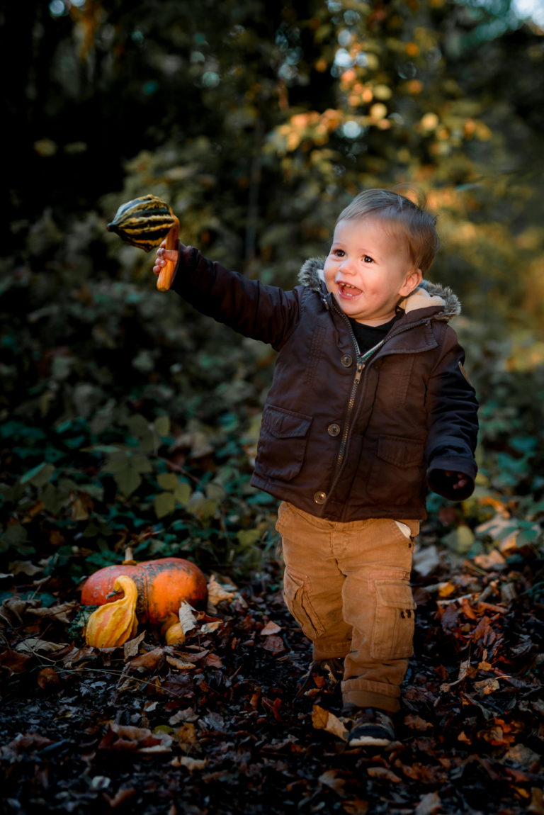 Séance Lifestyle photo bébé Yvelines Bougival Automne