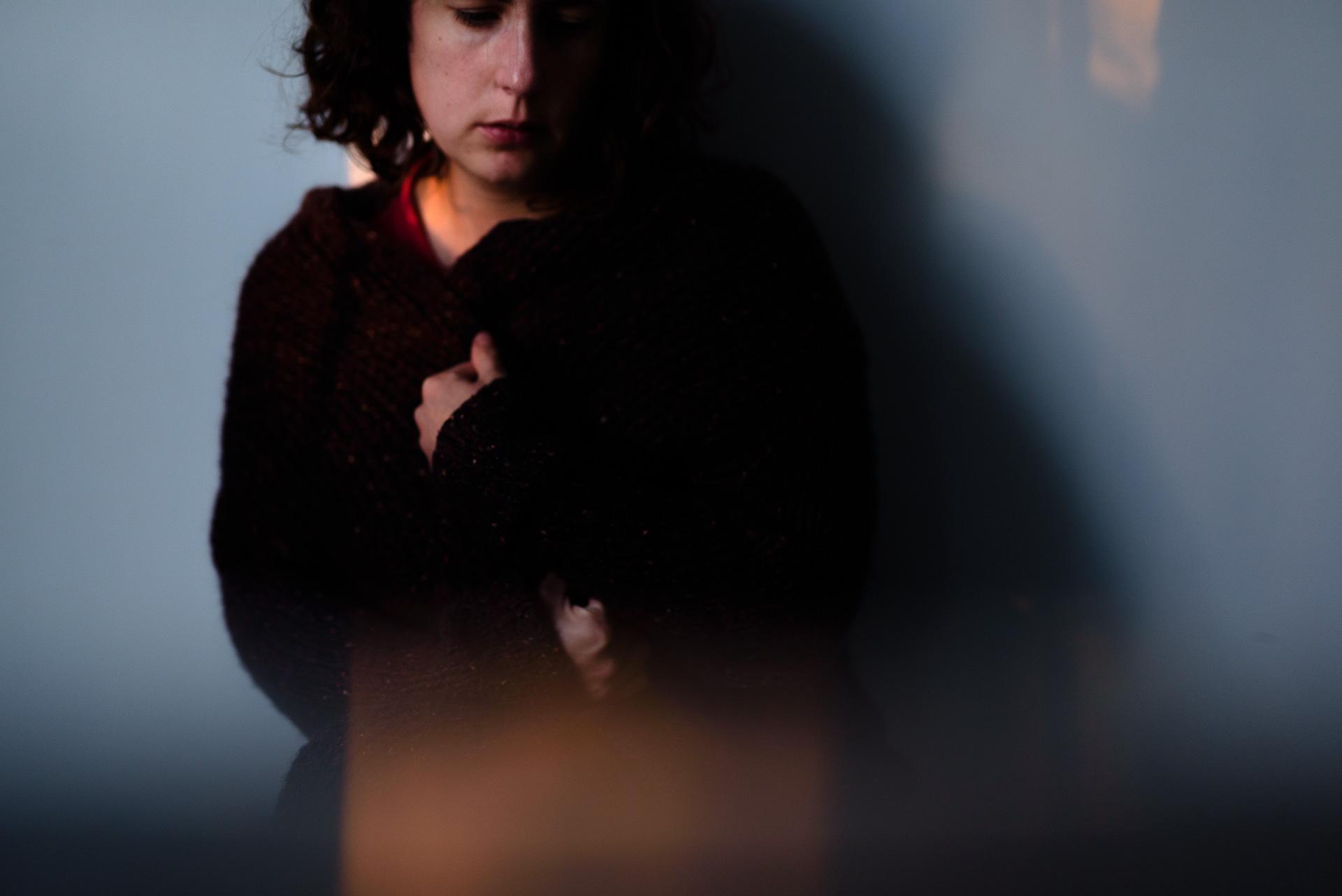 Autoportrait photographe portrait lumière paris