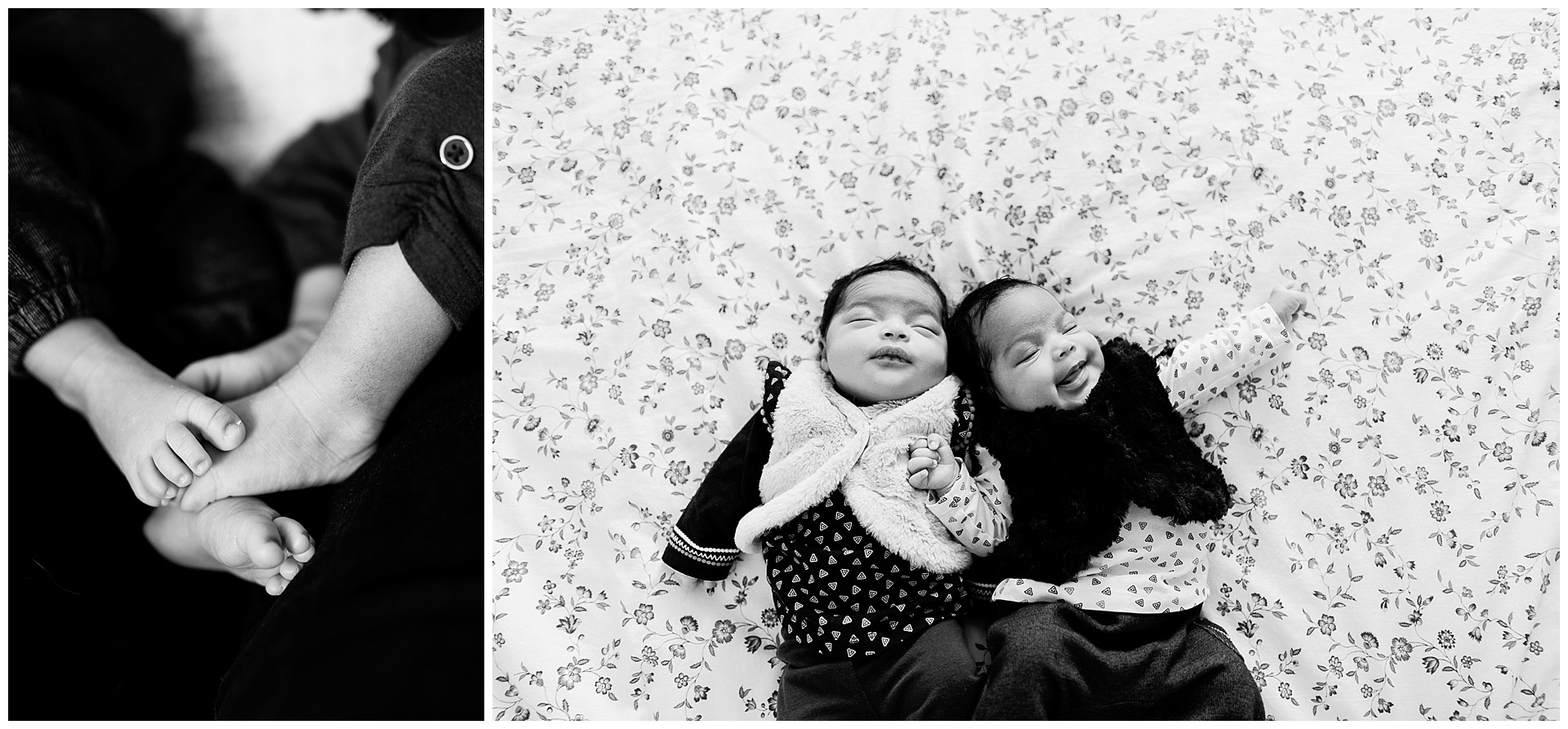 photographe-bebe Hauts-de-seine 92 jumelles nouveaux-nés Yvelines 78 Paris 75 Clichy