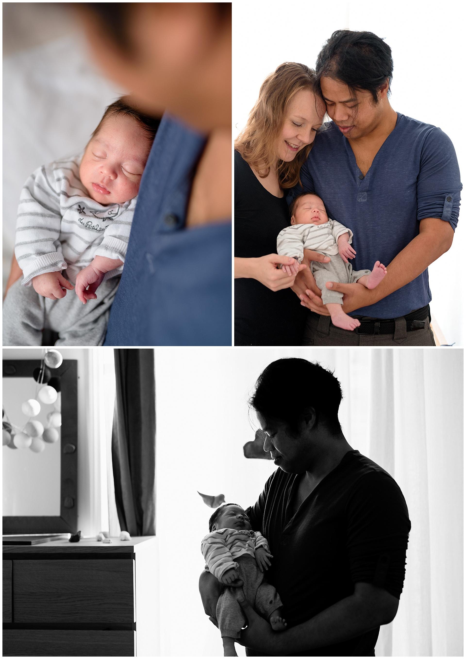 Séance photo naissance nouveau-né bébé hauts-de-seine Boulogne-Billancourt 92