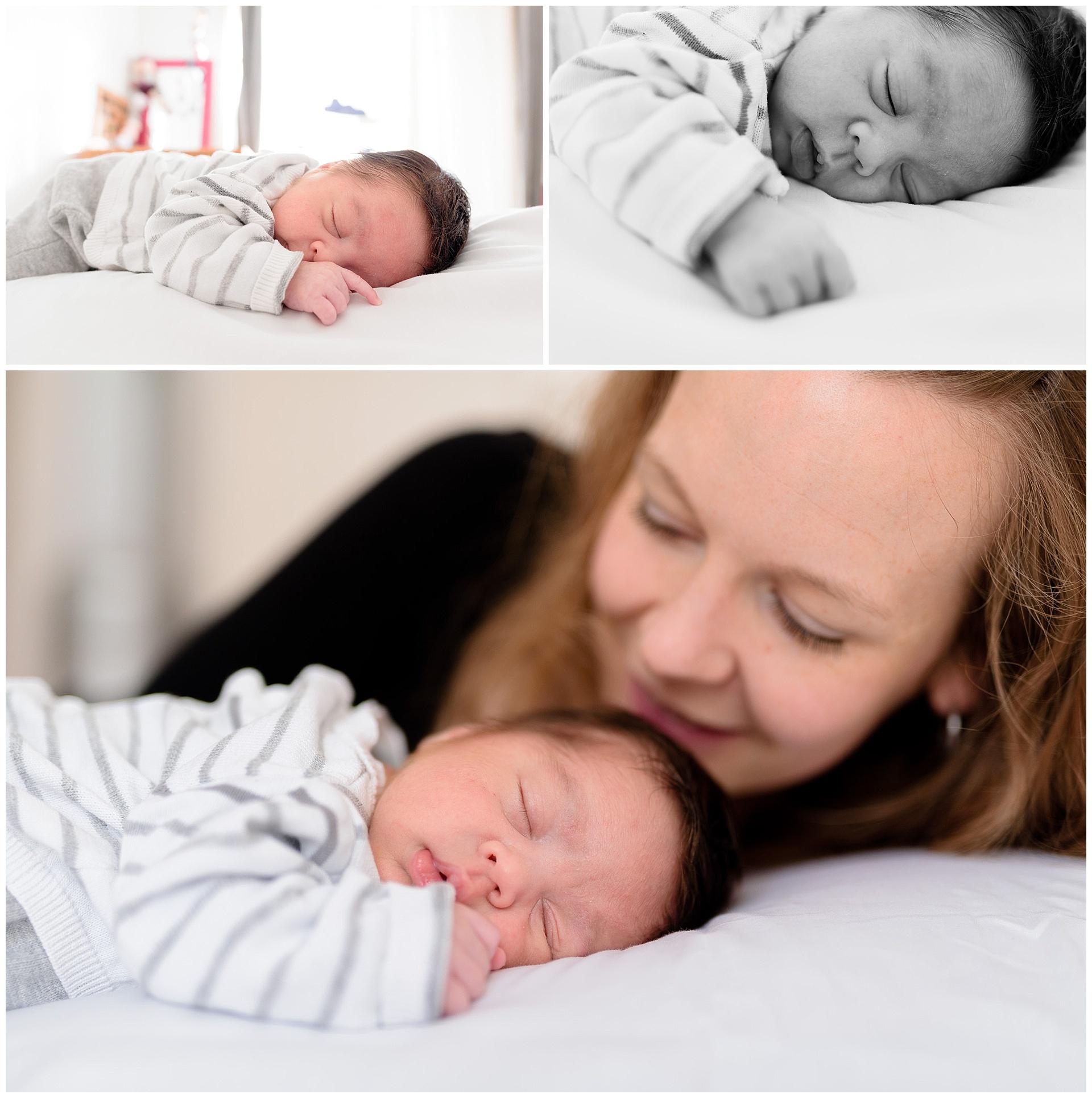 Séance photo naissance nouveau-né bébé hauts-de-seine Boulogne-Billancourt