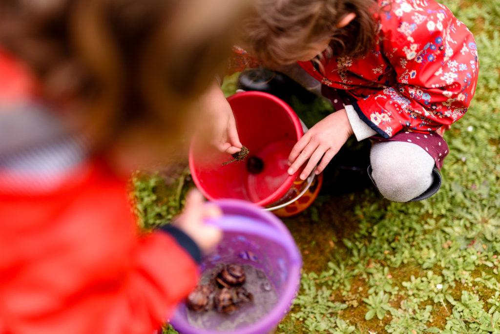 Automne Activité Yvelines famille enfants parents bébé extérieur escargot